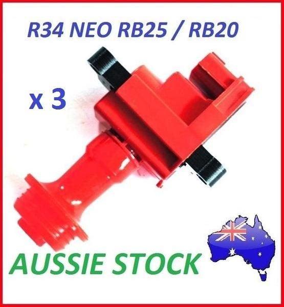 New Red Performance Ignition Coil for Nissan R34 Skyline GTT RB25DET