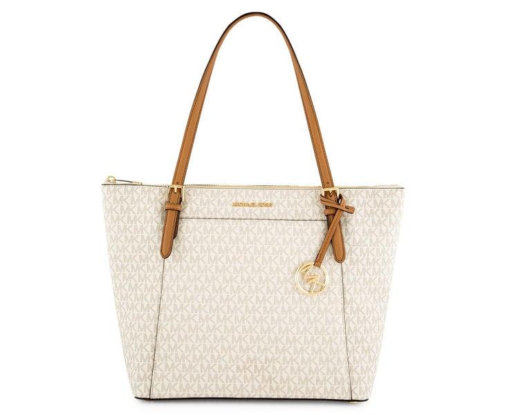 30fa5be874f0 Michael Kors Ciara Tote Handbag Vanilla Acorn Womens Tote | Trade Me