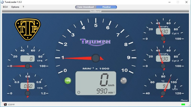 Triumph Bonneville Thruxton Scrambler America Speedmaster Efi Tune