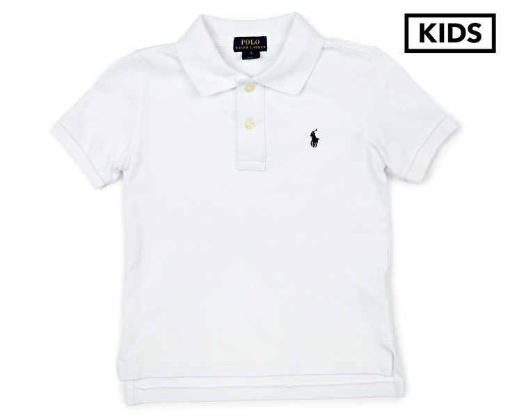 3f86407cf Polo Ralph Lauren Kids' Polo White Polo Shirt | Trade Me
