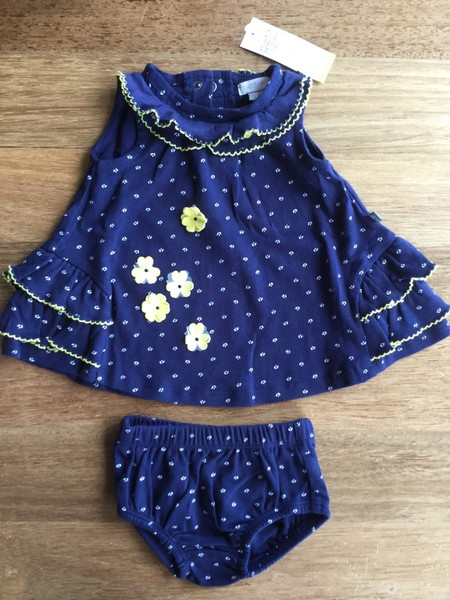 9c15e683f395 Petit Lem Baby Girl Dress Sz 0 - 3 Months | Trade Me