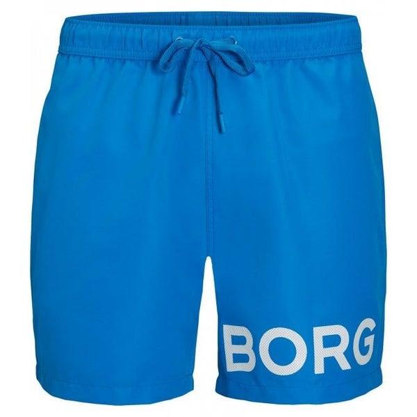 groothandel outlet beste online te koop BORG Logo Karim Boys Swim Shorts, Ibiza Blue