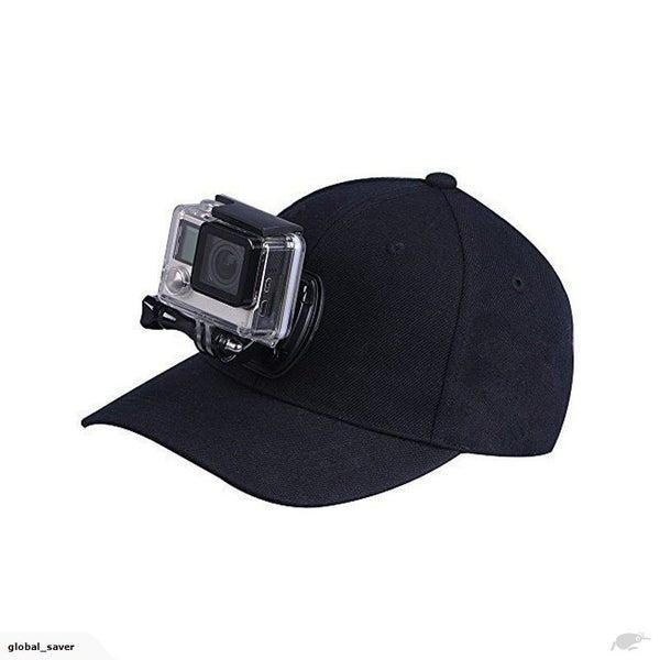 b5038870cee Adjustable Canvas Baseball Hat Cap Quick Release for Gopro SJCAM Kaiser