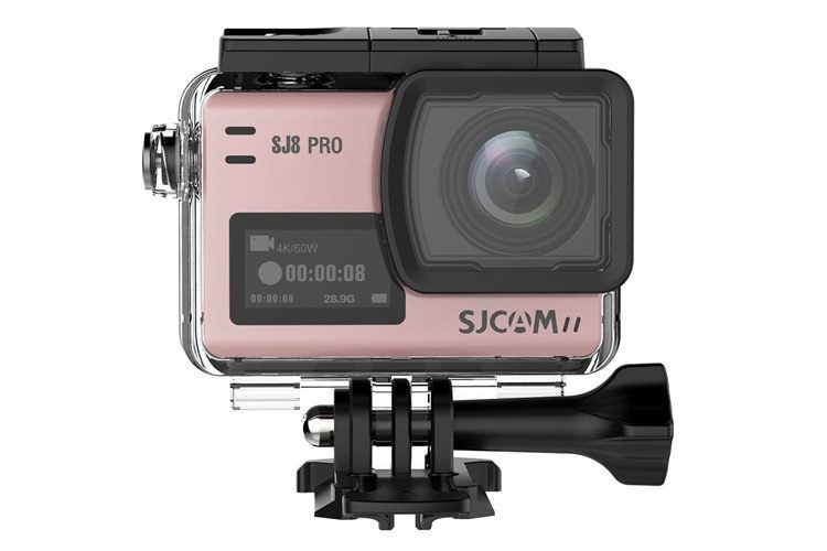 SJCAM SJ8 PRO ROSE GOLD TOUCH SCREEN SPORTS CAMERA 12MP 4K 60FPS WIFI DVR