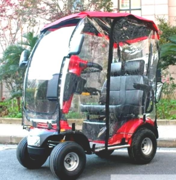 BLIZZARD Basic L46 DUO All Terrain Mobility Scooter with Roof/Rain Covers