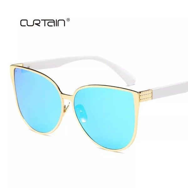 7e6f06ea686c6 (AJ)New Oversize Cat Eye Sunglasses Women Fashion Summer Style Big Size F