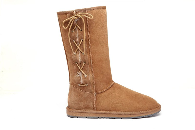 4de5625dbca UGG UGG Boots Australia Premium Double Face Sheepskin Tall Side Lace  Up,Water...