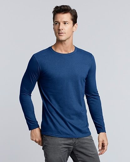 d3a6de198 64400 Gildan Softstyle Adult Long Sleeve T-Shirt | Trade Me