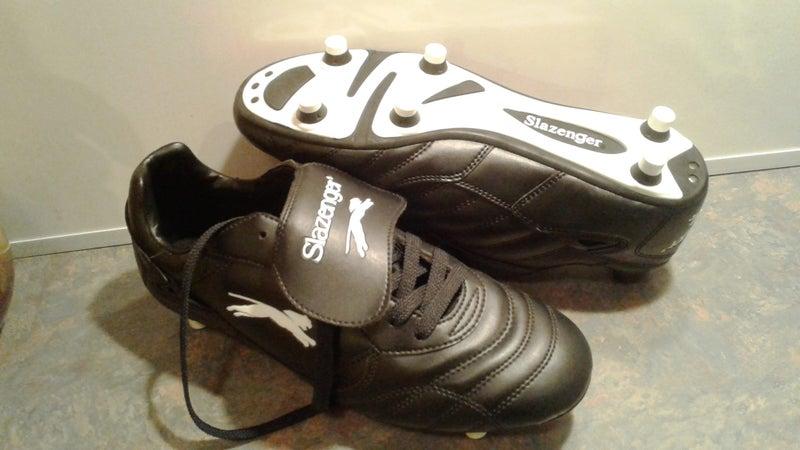 dfb88e3650 Slazenger football-soccer boots size 8 --black--written inside-US 9-UK  8.5--thes | Trade Me