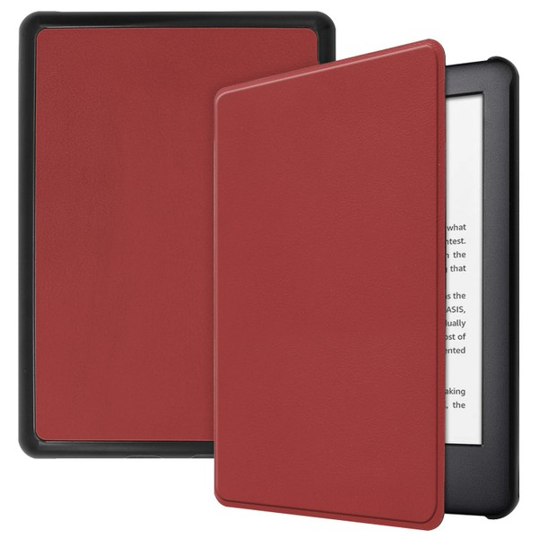 Kindle paperwhite 2019 case smart cover ultra slim maroon