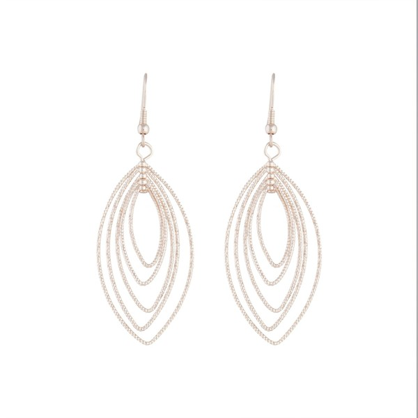 8021155b6 Rose Gold Textured Marquise Drop Earring by Lovisa | Trade Me