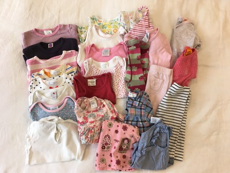 Baby & Toddler Clothing Latest Collection Of 3-6 Months Girls Bundle Girls' Clothing (newborn-5t)