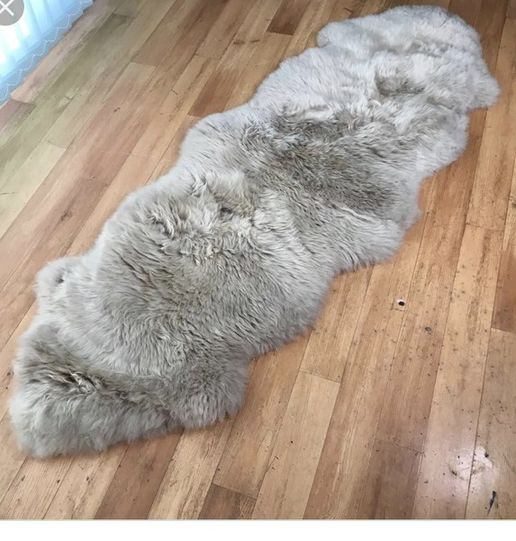 Stupendous Soft Faux Fur Chair Couch Cover Area Rug For Bedroom Floor Sofa Silver Caraccident5 Cool Chair Designs And Ideas Caraccident5Info