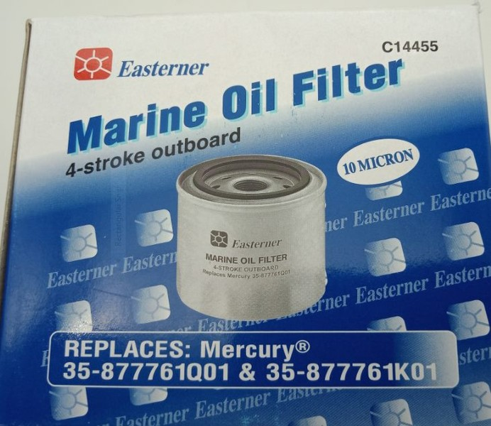 Mercury Oil Filter Replacement 4 Stroke Outboard Merc 35