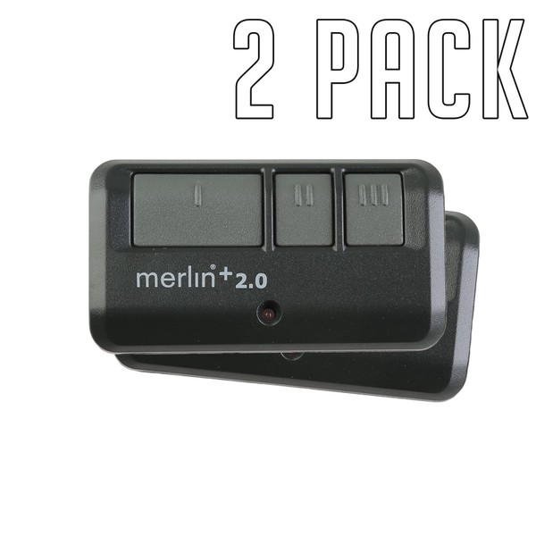 Merlin Garage Remote E943 Chamberlain Genuine x2
