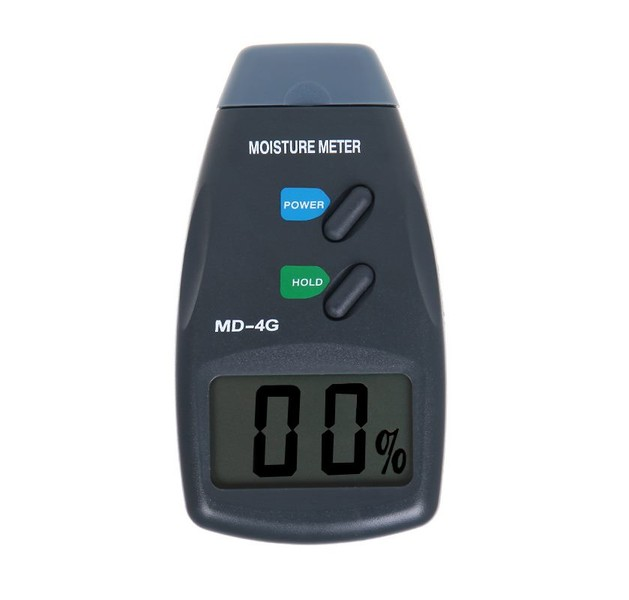Moisture Meter 4 Pin Digital with Safe Case & Battery