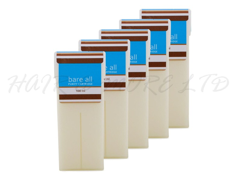 Bare All Purity Coconut Wax Cartridge 100ml - 5 Pack