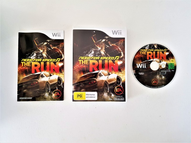 Need for Speed The Run Nintendo Wii Game