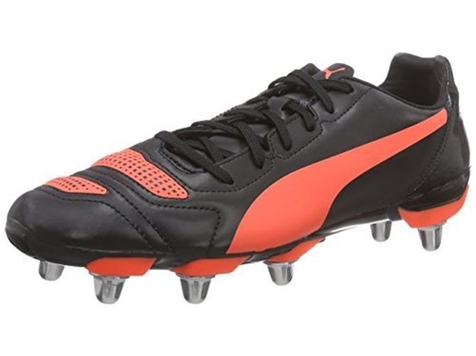 f8cd0364d Puma Evopower H8 Rugby Boots Black/red 8 - 42 Shoes Various Size Free  Postage | Trade Me