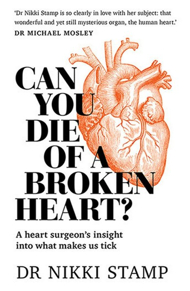 Can You Die of a Broken Heart? Nikki Stamp NEW Free Shipping