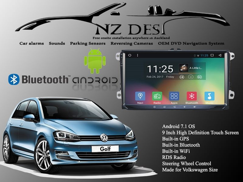 VW STEREO Android 7 1 WITH CAMERA SUPPLIED AND INSTALLED