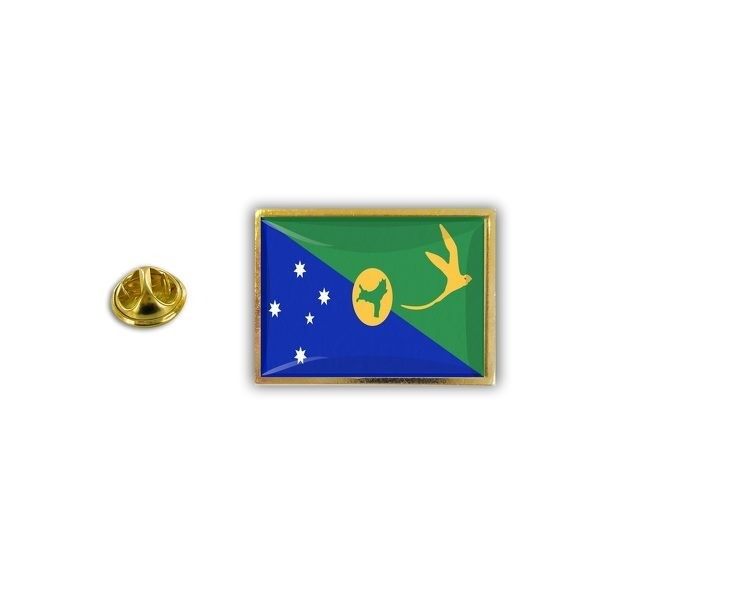 Christmas Island Flag.Pins Pin S Flag National Badge Metal Lapel Hat Button Vest Christmas Island