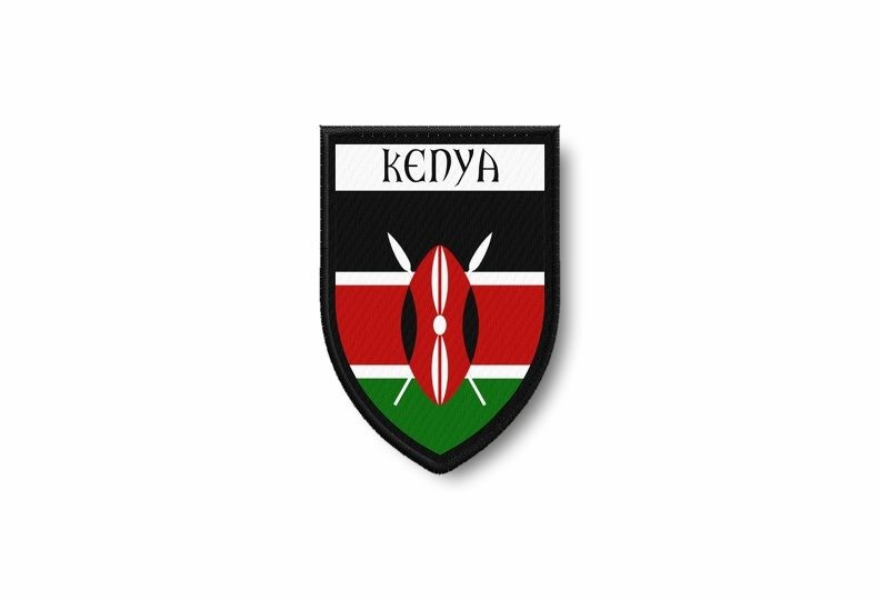 Iron on Kenya Patch