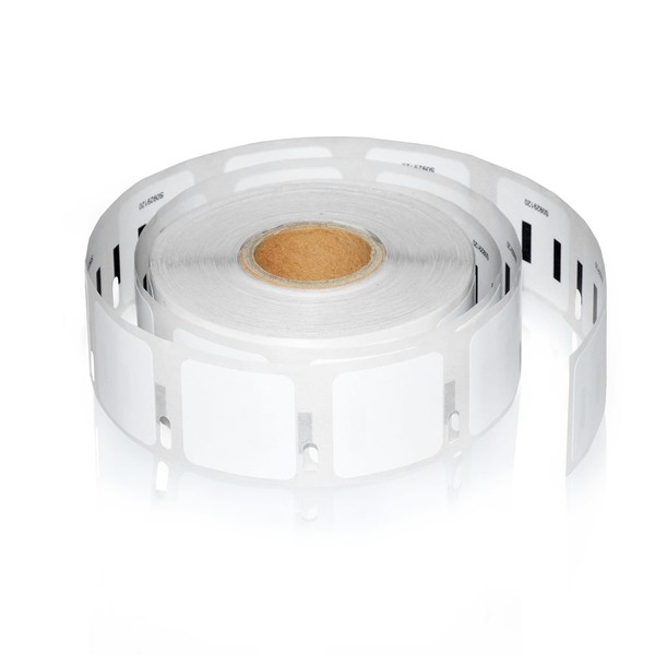 1 Rolls Dymo S0929120 Compatible Multipurpose Square Labels 25mm x 25mm