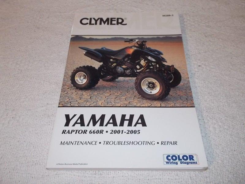 2001 Yamaha Raptor 660 Wiring Diagram
