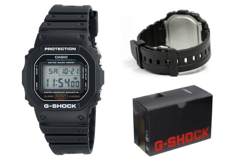 Casio Mens G Shock Classic Dw5600 Black