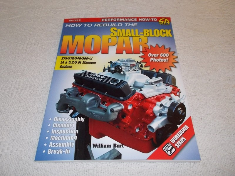 How to rebuild the Small Block Mopar by William Burt | Trade Me