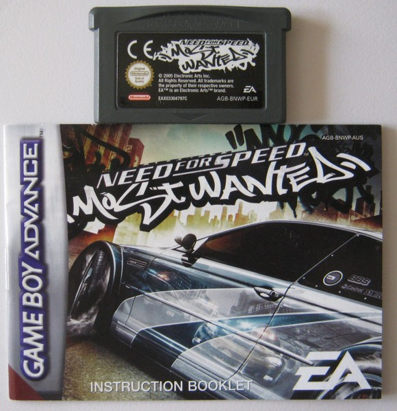 GBA Need for Speed Most Wanted - Gut