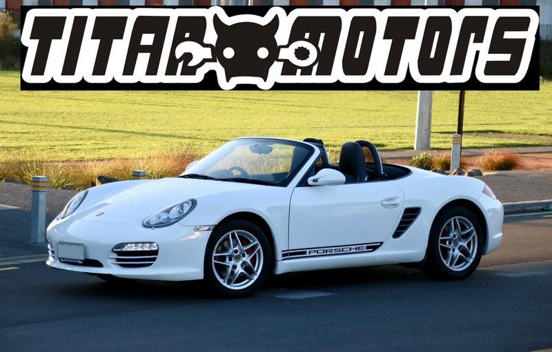 2010 Porsche Boxster Facelift PDK Chrono Pack +GPS | Trade Me
