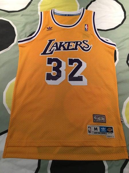 new product 88528 89bf3 ***Magic Johnson 32 Lakers - Hardwood Classic