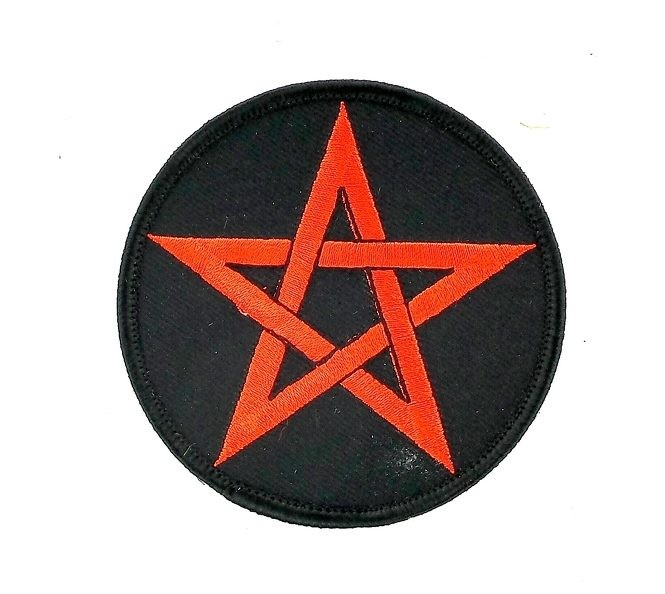 Akacha pins pin Badge pins Metal Button Pentagramme Pentacle Satan 666 satanisme