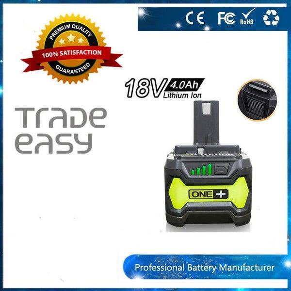 18V 4 0AH Li-ion Battery for RYOBI One Plus RB18L25 RB18L50 P108 P107 P104