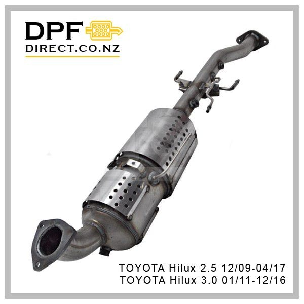 Toyota Hilux 2 5 3 0 DPF Diesel Particulate Filter   Trade Me