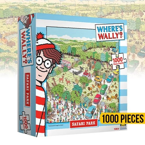 Wheres Wally 1000 Piece Puzzle