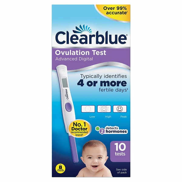 Clearblue Advanced Digital Ovulation Test 10 Pack