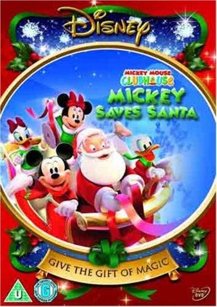 A Disney Christmas Gift Dvd.Mickey Mouse Clubhouse Mickey Saves Santa Disney Region 4 Dvd New