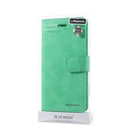 best sneakers c51e6 5832f iPhone 6s Case iPhone 6 case Wallet Leather Case MERCURY GOOSPERY Blue Moon
