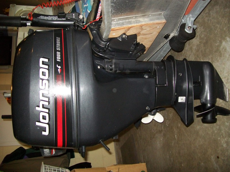JOHNSON 4 STROKE - 15 HP OUTBOARD - SHORT SHAFT   Trade Me