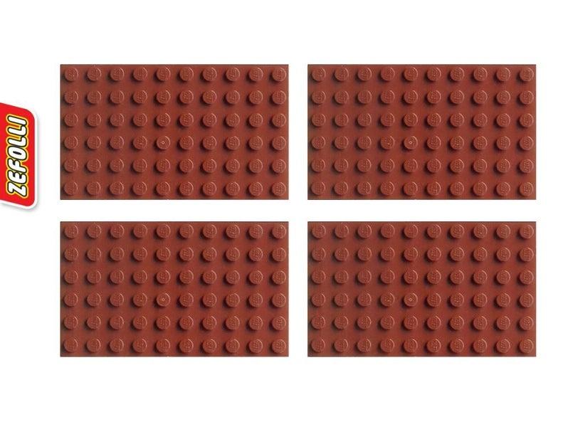 LEGO Reddish Brown 6x10 Plate