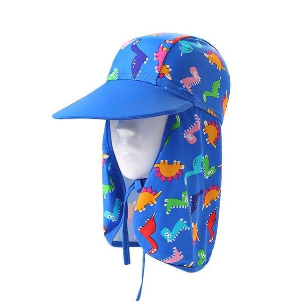 6c62b836 Children Summer UV Protection Outdoor Beach Sun Hat Neck Ear Cover Flap Cap  | Trade Me