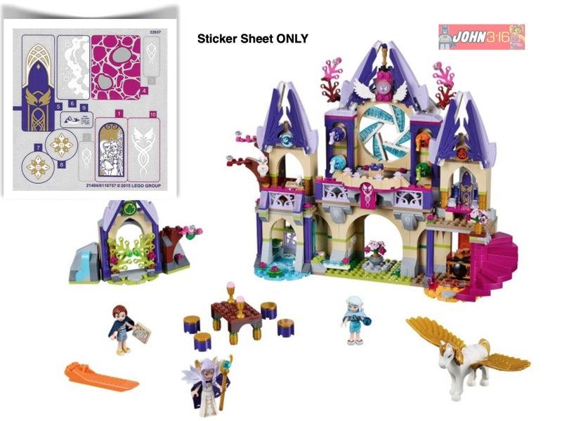 New Lego Elves STICKER from Skyra/'s Mysterious Sky Castle set 41078