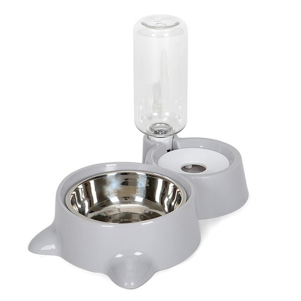 Automatic Pet Feeder Water Dispenser Cat Dog Drinking Bowl Dogs Feeder Dish