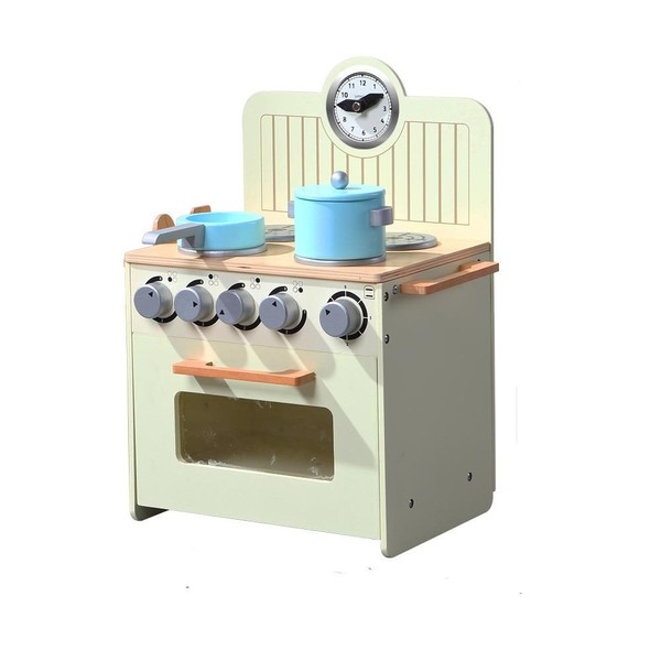 Kids Kitchen Play Set Cooking Toy Wooden