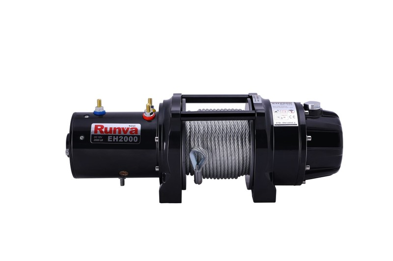 Runva EH2000 24V Lifting Winch with Steel Cable **PREMIUM** | Trade Me
