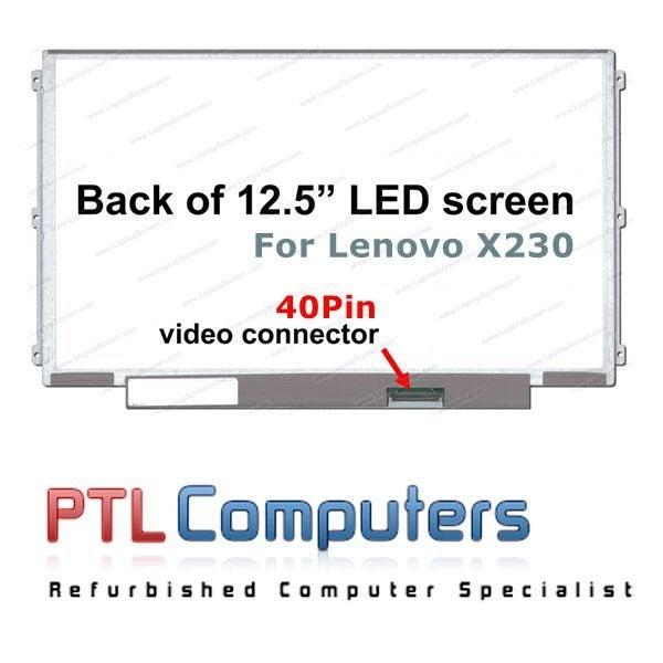 LENOVO ThinkPad X230 Laptop Screen 12 5 LED Slim Screen 40 pins  LP125WH2(TL)(B2)