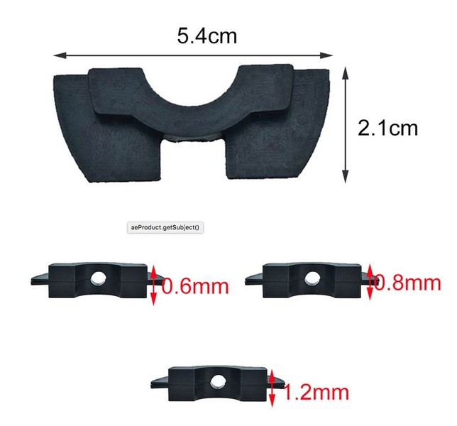 Cushion Modification Scooter Parts Anti Shock Vibration Damper for Xiaomi  M365
